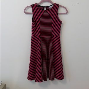 dillard's rare edition striped dress for girls